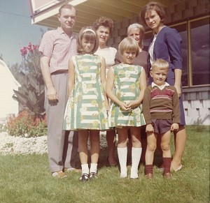 The Huber Family - 1960's