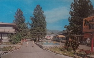 The Kreekside Motel, Penticton - 1960s