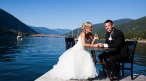 Make it a wedding-vacay at a waterfront destination! (Nelson)