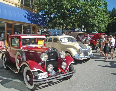 (Photo: Nelson Road Kings) The Queen City Cruise takes over downtown Nelson