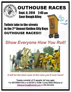 The 2nd Annual Outhouse Races will offer fun and laughs in Rossland